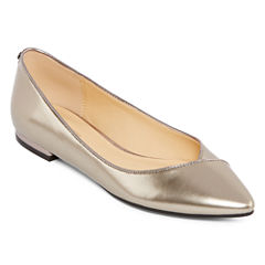 Liz Claiborne® Aba Pointed Toe Ballet Flats