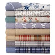 JCPenney Home™ Set of 2 Fleece Standard Pillowcases