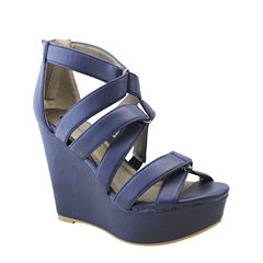 Michael Antonio Rett Womens Wedge Sandals