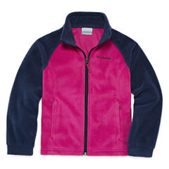 Columbia Girls Lightweight Fleece Jacket-Big Kid
