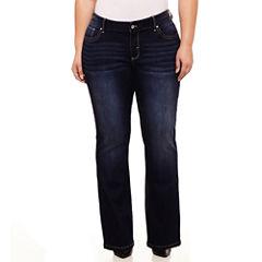 Stylus Bootcut Jeans-Plus
