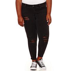 Indigo Rein Skinny Jeans-Juniors Plus