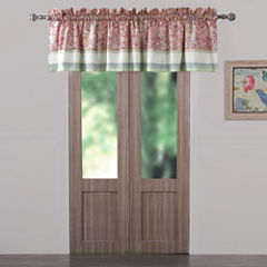 Barefoot Bungalow Palisades Tab-Top Scarf Valance