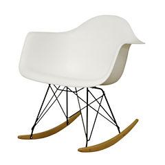 Baxton Studio Dario Rocking Chair