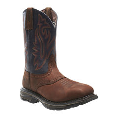 Wolverine® Steel-Toe Javelina High Plains Mens Work Boots