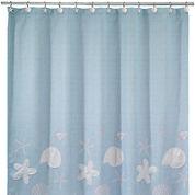 Avanti Sequin Shell Shower Curtain