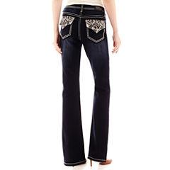 Love Indigo Back Flap Pocket Jeans