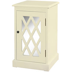 Layton Mirrored Side Table