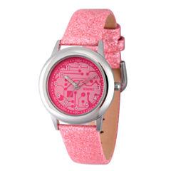 Discovery Kids® Glitzy Pink Watch