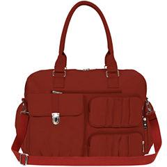 Mondo Crushed Nylon Travel Tote Bag