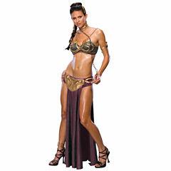 Jabba's Prisoner Princess Leia Adult Costume - Small