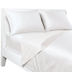 Sealy Posturepedic 300tc Sateen Easy Care Temperature Regulating Sheet Set