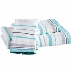 Destinations Sea Stripe Fingertip Towel
