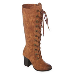 2 Lips Too Loaded Womens Dress Boots Wide