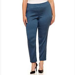 Worthington Skinny Fit Woven Pull-On Pants 29