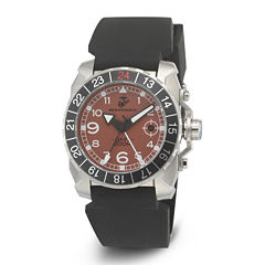 Wrist Armor® WA139 Mens US Marine Corps Stainless Steel Watch