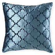JCPenney Home™ Velvet Ogee Decorative Pillow