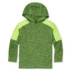 Xersion™ Long-Sleeve Melange Hooded Top - Preschool Boys 4-7