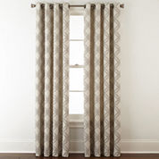JCPenney Home™ Teagan Blackout Grommet-Top Curtain Panel