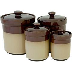 Sango Nova 4-pc. Ceramic Canister Set