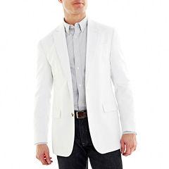 Stafford® Linen-Cotton Sport Coat - Classic Fit