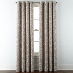 grommet curtains & drapes for window - jcpenney