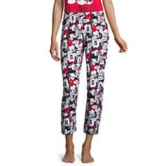 Disney Mickey Mouse Jersey Pajama Pants-Juniors