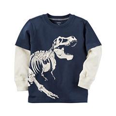 Carter's Long Sleeve T-Shirt-Baby Boys