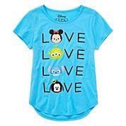 Disney Tsum Short-Sleeve Love Tee - Girls 7-16