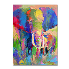 Elephant Canvas Wall Art