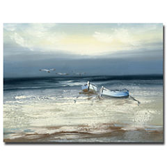 Low Tide Canvas Wall Art