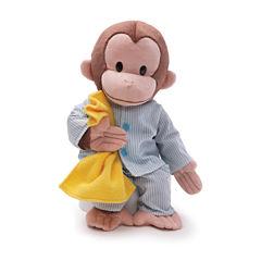 Gund Curious George Pajamas 16 Stuffed Animal