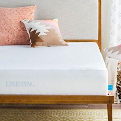 Linenspa Premium Smooth Fabric Mattress Protector