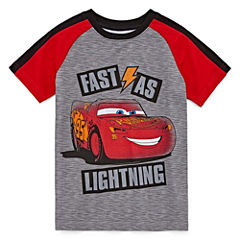 Disney by Okie Dokie Cars Graphic T-Shirt-Preschool Boys