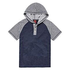 Arizona Short Sleeve Henley Shirt - Big Kid Boys