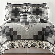 Home Expressions™ Rosetti Quilt & Accessories