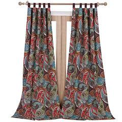 Greenland Home Fashions Tivoli 2-pk. Tab-Top Curtain Panels
