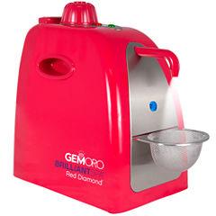GemOro BrilliantSpa Red Diamond Deluxe Personal Jewelry Steam Cleaner