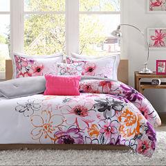 Intelligent Design Cassidy Floral Comforter Set