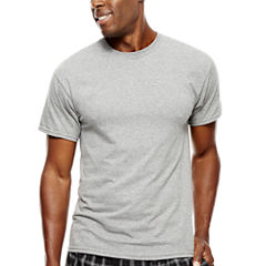 Hanes Men's ComfortBlend® FreshIQ(™ Dyed Crewneck Undershirt 4-Pack