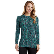 Cuddl Duds® Softwear Long-Sleeve Crewneck Shirt