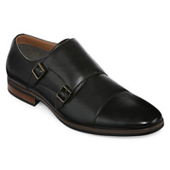JF J. Ferrar® Sloan Mens Monk Strap Shoes