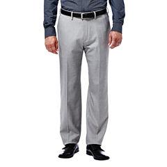 Haggar® Expandomatic Stretch Classic-Fit Flat-Front Pants