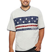 Lee® Short-Sleeve Freedom Tee - Big & Tall