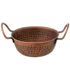 Thirstystone® Urban Farm Hammered Antique Copper Balti Bowl