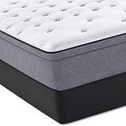 Sealy® Posturepedic Iguaza Falls Cushion Firm Euro-Top Mattress and Box Spring