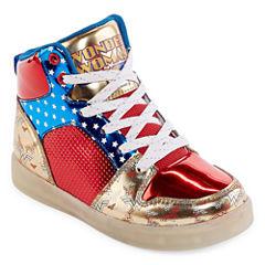 Warner Brothers Wonder Woman Girls Sneakers