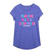 New Balance® Short-Sleeve Graphic Tee - Girls 7-16