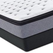 Sealy Posturepedic® Iguaza Falls Firm Euro Pillow-Top Mattress & Box Spring