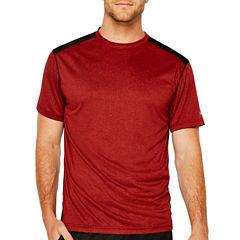 Spalding Double Dyed Heather Short Sleeve Crew Neck T-Shirt